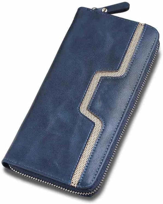 Geldbörse WQQ WQQ WQQ Herrenhandtasche Lange Wallet