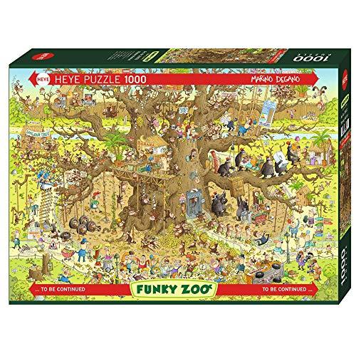 Heye 29833Monkey Habitat Puzzles