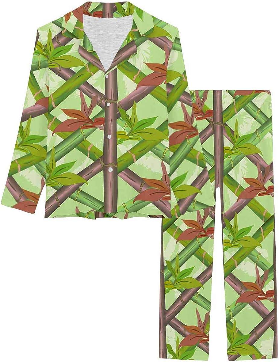 InterestPrint Soft Loungewear Button Down for Nightwear Ba Max 46% OFF Luxury Women