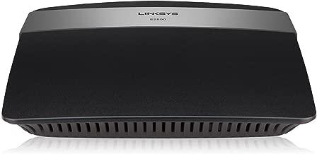 Linksys E2500 (N600) Advanced Simultaneous Dual-Band WiFi N Router, Renewed (E2500-RM2)