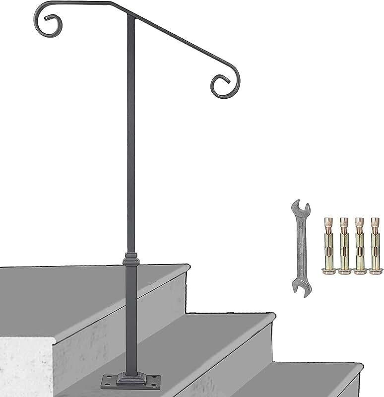 Amazon.com: handrails for concrete steps