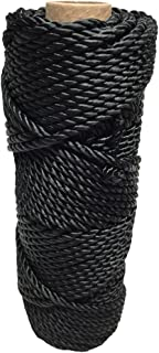SGT KNOTS Tarred Twine (#9 - #120) Bank Line - 1/4 lb or 1 lb - 100% Nylon Fiber - Utility Twine for Gear Bundles, Crafting, Home Improvement, Landscaping, Construction (120 ft - 1680 ft)