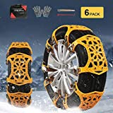 soyond Snow Chains Car Anti Slip Snow Tire Chains...