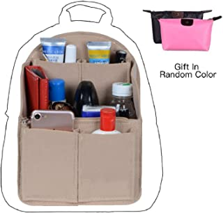 Felt Backpack Organizer Insert, Purse Organizer For Men, Women Backpack For Mummy Coach MCM LV JanSport Anello, Small Large