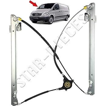 STARKIT PERFORMANCE M/écanisme l/ève vitre /électrique Avant Gauche conducteur pour Mercedes VITO et Viano W639 de 2003 /à 2014.