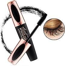 Turelifes 4D Silk Fiber Lash Mascara Make a Curl, Thick & Long Eyelash Waterproof and Smudge-proof Eyes Makeup Black (MACFEE)