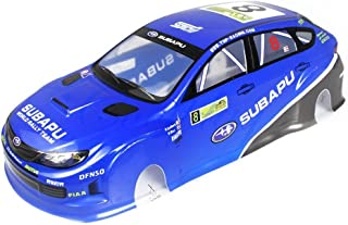 Coolplay 1/10 PVC On Road Drift Rally Subapu Sti X Car Body Shell RC Racing Accessories (Blue)