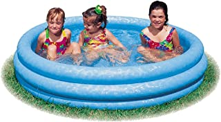 """INTEX Crystal Blue Kids Outdoor Inflatable 58"""" Swimming Pool 