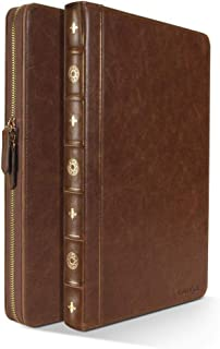 """Vintage Book Style Sleeve Case for 13"""" Macbook Air/Pro (Brown)"""