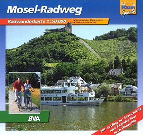 Mosel-Radweg: Radwanderführer Massstab 1:50000