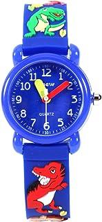Kinderhorloge Leuke Cartoon Waterdicht Quartz Horloge Leerlingen Jongens Meisjes 3D Siliconen Horloge