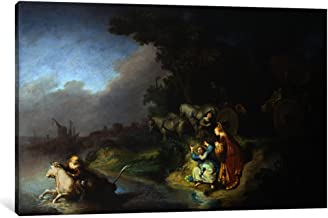 iCanvasART 1 Piece Abduction of Europa Canvas Print by Rembrandt Van Rijn, 0.75 by 26 by 18-Inch
