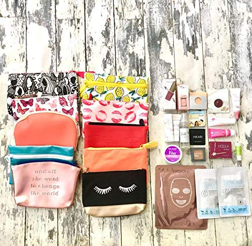 Random IPSY Bag with 10 Makeup and Skincare samples sizes