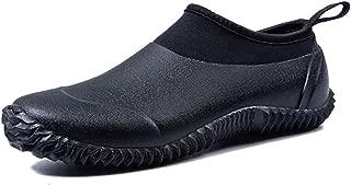 Unisex Waterproof Garden Shoes Womens Rain Boots Mens Car Wash Footwear