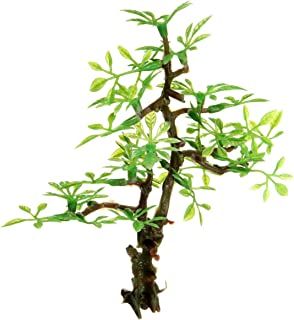 Plastic Bonsai Green Tree Aquarium Ornament Fish Tank Underwater Decor Ornament Landscape Decor Artificial Tree Water Plant