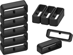 Replacement Band Keeper for Garmin Instinct Silicone Bands(Pack of 10) Compatible with Garmin Fenix Chronos Fastener Ring Security Loop