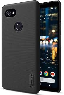 غطاء حماية خلفي لهاتف غوغل بيكسل 2 اكس ال من نيلكين ( لون اسود) الطلب عبر الهاتف