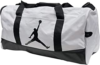 promo code 5ae86 b5cad Nike Air Jordan Jumpman Duffel Sports Gym Bag 8A1913 Wet Dry Shoe Pocket  Water Resistant