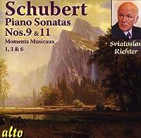 Schubert: Piano Sonatas Nos. 9 & 11; Moments Musicaux (selected) by Sviatoslav Richter (2011-06-14)
