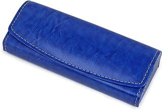テーシーケース メガネケース アルミ ハードケース ブルー TK-10246-1-12
