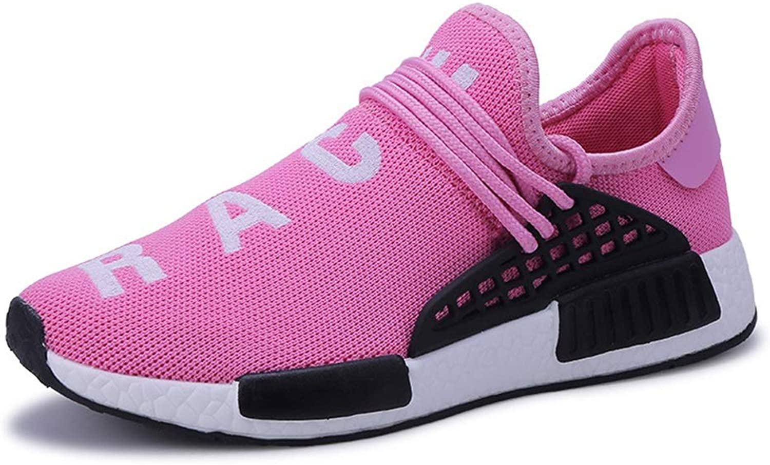 Women's Casual shoes, 2018 Autumn The Large Size Trend Running shoes Male and Female Couples Flying Woven Sports shoes