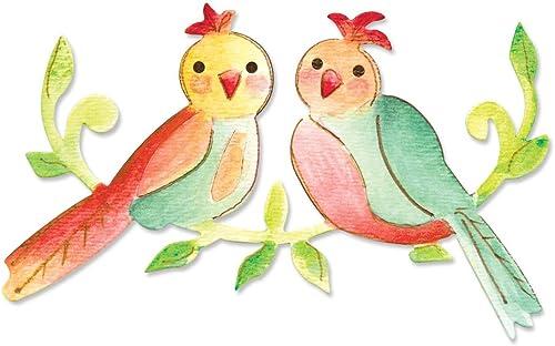 en stock Sizzix Ellison Europe Bigz Die de pájaros y y y Corazones por Dena Designs  marca de lujo