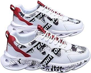[アスペルシオ] 厚底 靴紐スニーカー ストリート スニーカー スポーツ メンズ