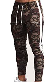 Winwinus Men Oversized Floral Printed Waistband Stretchy Jogger Pants