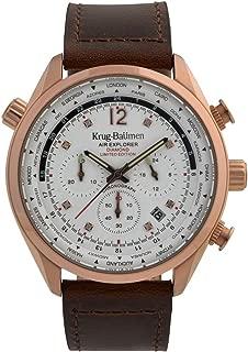 Krug-Baumen 100206DM Mens Air Explorer Diamond Limited Edition Watch