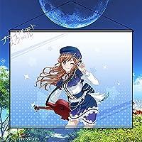プライベートスクール BanG Dream! バンドリ! 今井リサ タペストリー ポスター 壁掛け 掛ける絵 装飾画 巻物 軸物 カスタマイズ可能 約50cmX70cm「B2」
