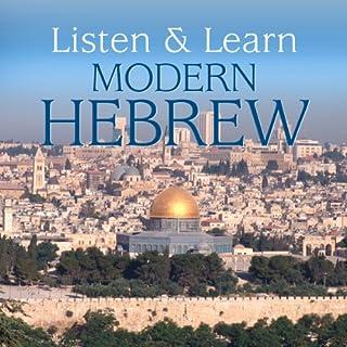 Listen & Learn Modern Hebrew cover art