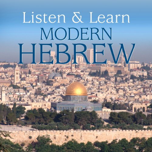 Listen & Learn Modern Hebrew audiobook cover art