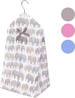 elephant diaper stacker