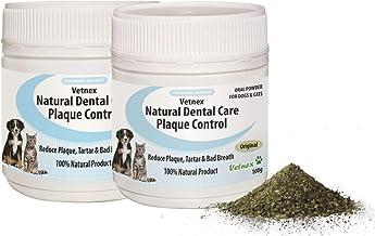 Vetnex Natural Dental Care Plaque Control Duo-Pack for Dogs & Cats (Original Powder) 2x100g