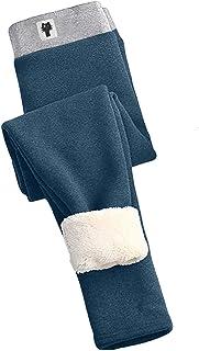 757 Leggings Termici da Donna Pantaloni da Jogging Foderati in Pile Pantaloni Invernali Slim-Fit più Caldi Imbottiti in Ve...