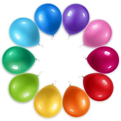 coloured balloons amazon co uk