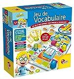 Lisciani - I'm a Genius Talent School - Jeu De Vocabulaire - Un jeu-questionnaire éducatif et amusant sous forme de parcours pour les enfants à partir de 5 ans pour enrichir le lexique