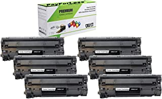 PayForLess Compatible Toner Cartridge CRG137 Canon 137 Black 6PK for Canon MF244dw MF247dw MF236n MF212w MF216n MF217w MF229dw MF249dw MF232w MF227dw LBP151dw D570 Printers