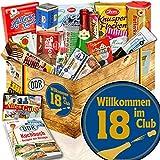 Wilkommen im Club 18 ++ Geschenke zum 18. Geburtstag ++ Geschenk DDR XXL