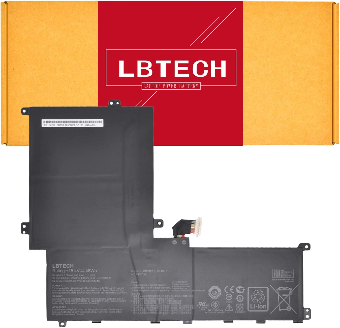 LBTECH C41N1619 Laptop Battery Replacement Max 40% OFF B9 B9440 Asus Pro Oakland Mall for