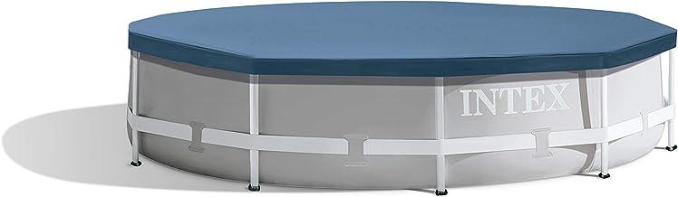 INTEX Bâche de protection pour Tubulaire ronde Bleu 305 x 305 x 25 cm 28030