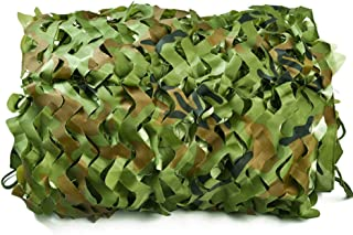 Image of NING Green Camo Netting Vehicle Camouflage Suitable for Hunting,Military,Shooting,Hiding,Photography Camouflage Netting