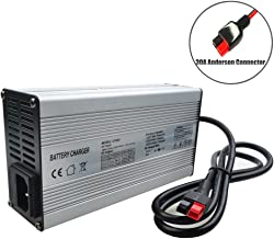 48V Charger 48V Lithium Battery Charger 48V Trickle Charger 48V Ezgo Battery Charger 54.6V 4A Charger 48V E-Bike/Motorcycle Battery Charger with Anderson Connector(54.6V 4A Anderson)