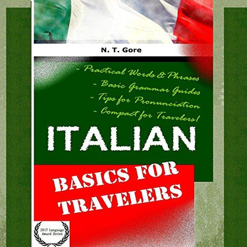 Italian - Basics for Travelers audiobook cover art