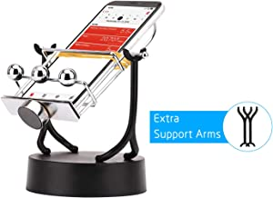 FUNTECK Phone Swing Device Phone Rocker for Steps Chanllenge and Hatching Eggs in Pokemon Go Including Extra Support Arms
