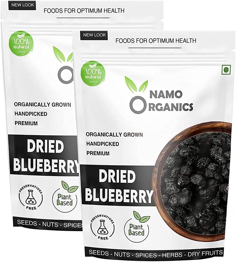Trisha Namo Organics - Dried Whole Pouch Bl Blueberries At the price of Tampa Mall surprise Kg 1