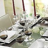 MALACASA, Serie Carina, 60 tlg. Cremeweiß Porzellan Geschirrset Kombiservice Tafelservice mit je 12 Kaffeetassen, 12 Untertassen, 12 Dessertteller, 12 Suppenteller und 12 Flachteller - 6