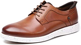 Casual Dress Oxford Shoes for Men - Business Casual Leather Dress Sneakers Men, Lace Up Simple Style Comfortable Shoes