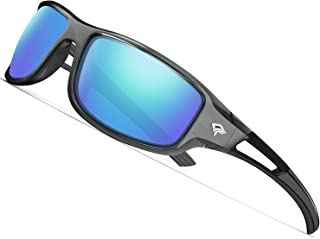 Polarized Sports Sunglasses for Men Women Cycling Running Driving Fishing Golf Baseball Glasses GRILAMID TR90 Frame TR03