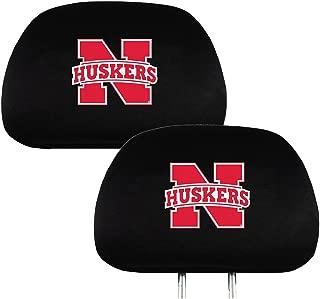 Pilot Alumni Group SC-901N Black Seat Cover with Logo Collegiate Nebraska Cornhuskers